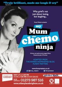 My Mum The Chemo Ninja. Angela Brightwell. Funny Matters
