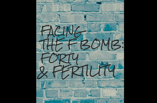 Facing The F Bomb: Forty & Fertility - Angela Brightwell - Funny Matters